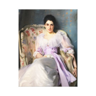 John Singer Sargent Lady Agnew of Lochnaw Canvas Print