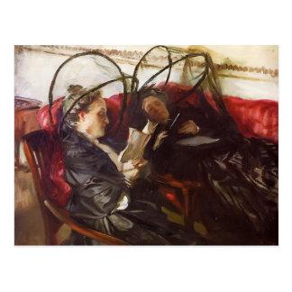 John Singer Sargent- Mosquito Nets Postcard