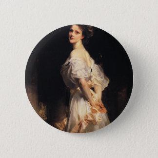 John Singer Sargent - Nancy Astor 6 Cm Round Badge
