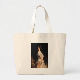 John Singer Sargent - Nancy Astor - Fine Art Large Tote Bag