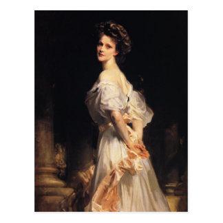 John Singer Sargent - Nancy Astor Postcard