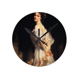 John Singer Sargent - Nancy Astor Round Clock