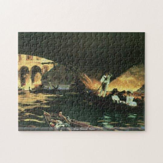 John Singer Sargent - Rialto puzzle