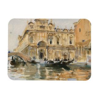 John Singer Sargent - Rio dei Mendicanti, Venice Rectangular Photo Magnet