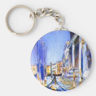 John Singer Sargent Rio dell'Angelo Venice Key Chains