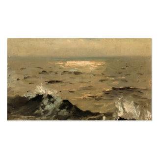 John Singer Sargent- Seascape Business Card