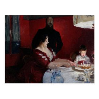 John Singer Sargent - The Birthday Party Postcard