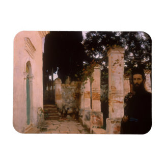 John Singer Sargent - Vespers Rectangular Photo Magnet