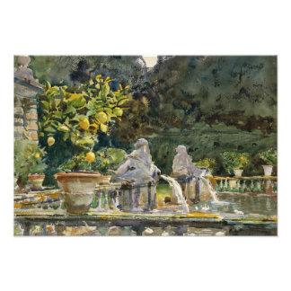 John Singer Sargent - Villa di Marlia, Lucca Art Photo