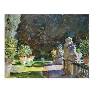 John Singer Sargent - Villa di Marlia, Lucca Postcard