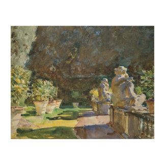 John Singer Sargent - Villa di Marlia, Lucca Wood Canvases
