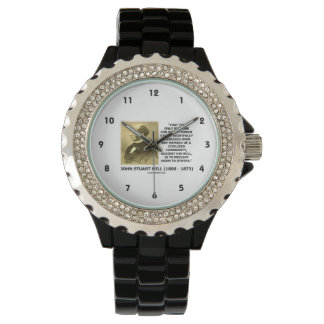 John Stuart Mill Prevent Harm To Others Quote Wristwatches
