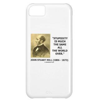 John Stuart Mill Stupidity Much The Same World iPhone 5C Case
