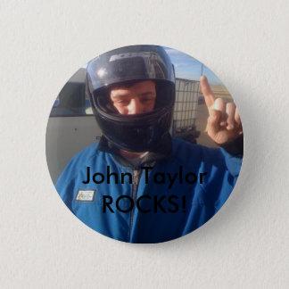 John Taylor 6 Cm Round Badge