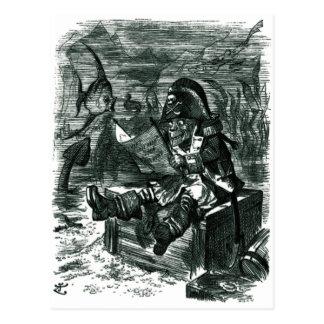 John Tenniel: Davy Jones Locker Postcard