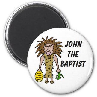 John The Baptist Clipart 6 Cm Round Magnet