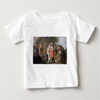 John the Baptist Preaching Baby T-Shirt
