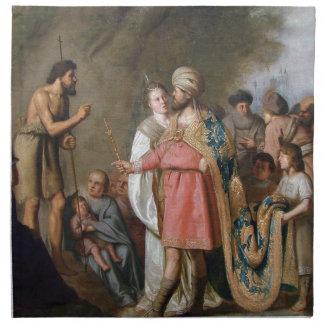 John the Baptist Preaching Napkin
