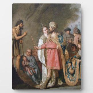 John the Baptist Preaching Plaque