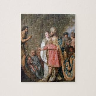 John the Baptist Preaching Puzzles