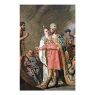 John the Baptist Preaching Stationery