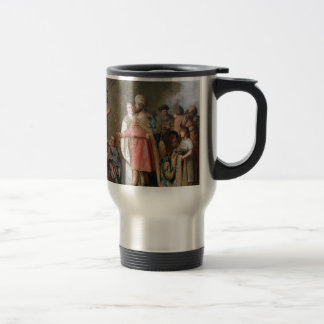 John the Baptist Preaching Travel Mug