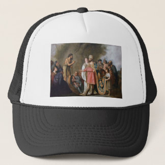 John the Baptist Preaching Trucker Hat