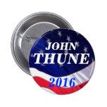 John Thune 2016 Buttons