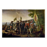John Vanderlyn Landing Of Columbus Poster