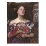 John Waterhouse- Gather Ye Rosebuds or Ophelia Postcards