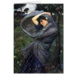 John Waterhouse Pre-Raphaelite Boreas Card