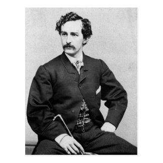 John Wilkes Booth ~ Assassin of President Lincoln Postcard