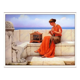 John William Godward- A Song without Words Postcard