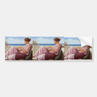 John William Godward- A Souvenir Bumper Sticker