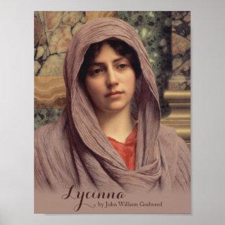 John William Godward Lycinna CC0201 Beautiful Art Poster