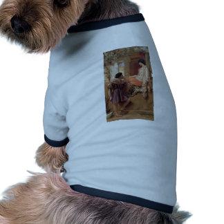 John William Godward- The Old, Old Story Dog Shirt