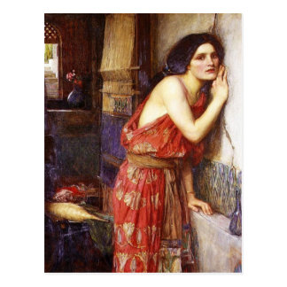 John William Waterhouse (1909) 'Thisbe' Postcard
