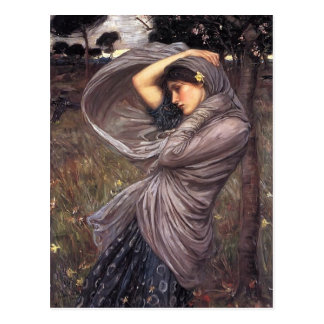 John William Waterhouse- Boreas Postcard