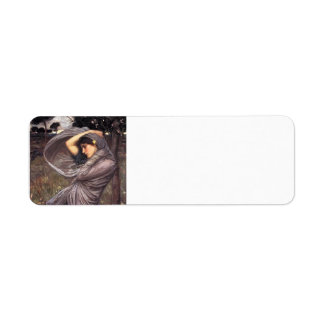 John William Waterhouse- Boreas Return Address Label