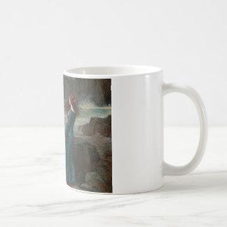 John William Waterhouse - Miranda - The Tempest Coffee Mug