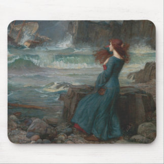 John William Waterhouse - Miranda - The Tempest Mouse Pad