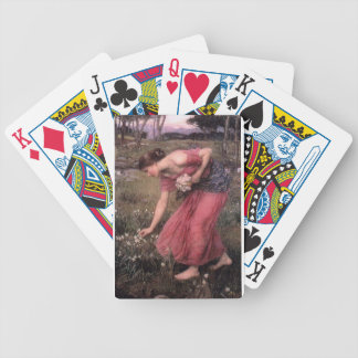 John William Waterhouse - Narcissus - Fine Art Bicycle Playing Cards