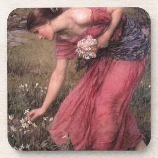 John William Waterhouse - Narcissus - Fine Art Coaster