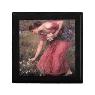 John William Waterhouse - Narcissus - Fine Art Gift Box