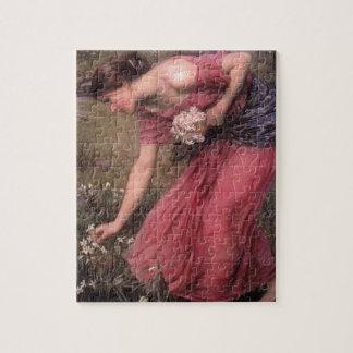 John William Waterhouse - Narcissus - Fine Art Jigsaw Puzzle