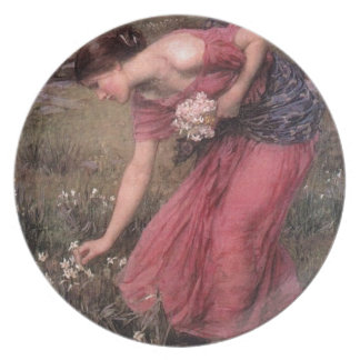 John William Waterhouse - Narcissus - Fine Art Plate