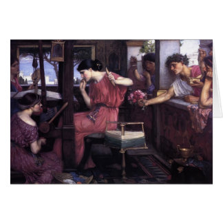 John William Waterhouse- Penelope and the Suitors Cards