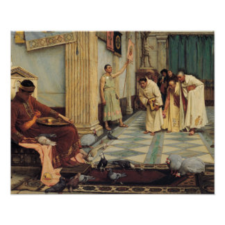 John William Waterhouse - The Favourites... Poster