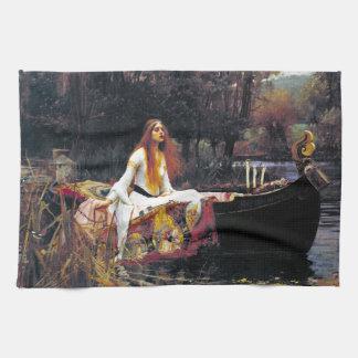 John William Waterhouse The Lady Of Shalott Towels