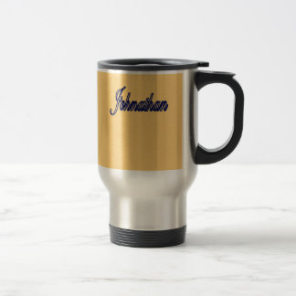 Johnathan Golden Stainless Steel Mug